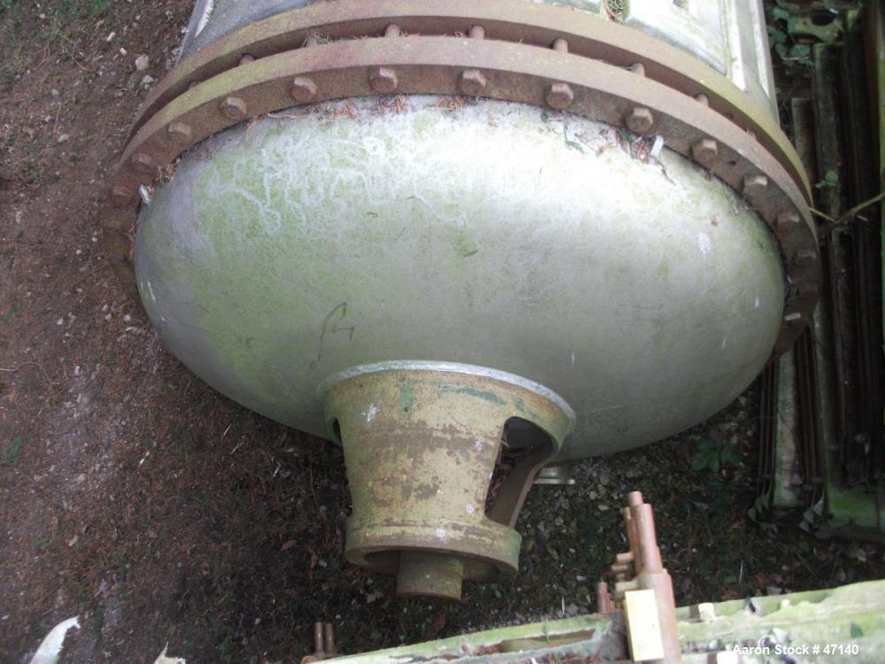 Used- Buss Paddle Rotary Vacuum Dryer