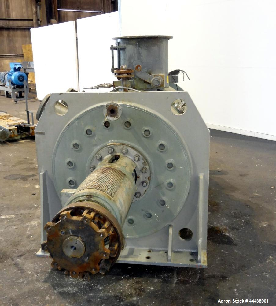 Used- Stainless Steel Lodige Druvatherm Batch Type Vacuum Paddle Dryer, Type VTA