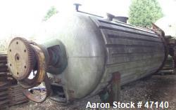 Used- Buss Paddle Rotary Vacuum Dryer