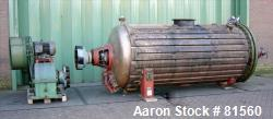 Used- Vevey Rotary Vacuum Dryer, 75 Cubic Feet Working Capacity.