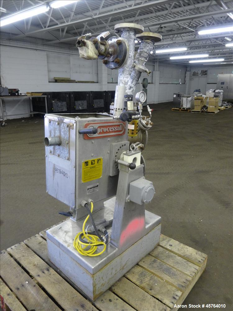 Used- Processall Mixer, High Temperature, Approximately .14 Cubic Feet