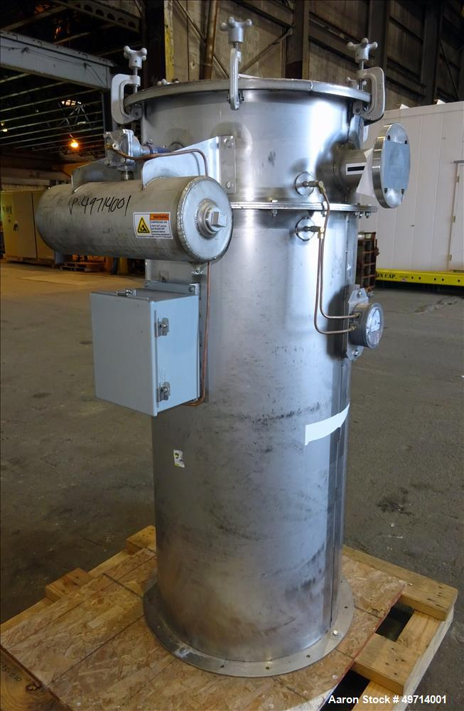 Unused- Scott Equipment Company Indirect Batch Vacuum Dryer