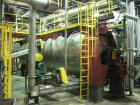 Used-Atlas Stord Rotary Vacuum Dryer, Rota Channel Model RCD2564.  64 discs, rotor speed 8.6 rpm, ASME code stamped, 145 psi...