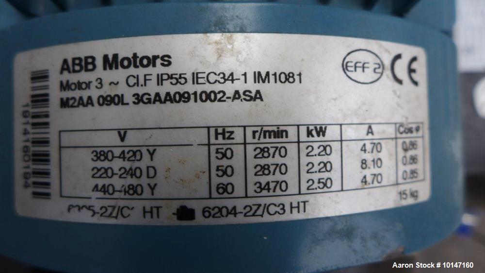 Used Belovo Engineering Belgie Spray Dryer