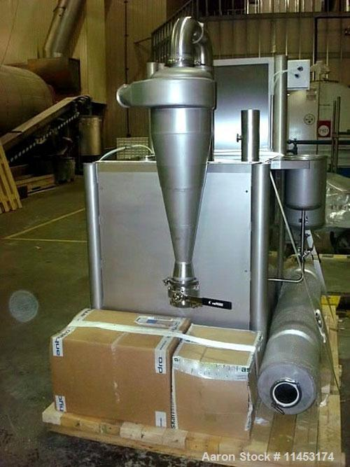 Used-Anhydro MicraSpray Model 400 Spray Dryer System, Stainless Steel.Includes feed pump, feed tank, water tank and feed pip...