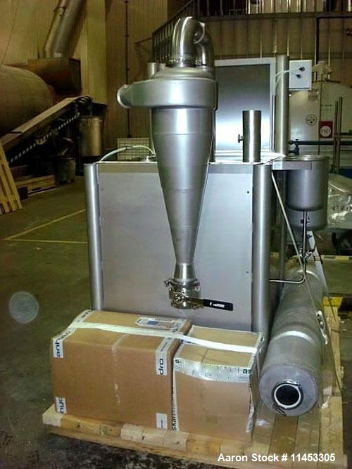 Used- Used- Anhydro MicraSpray Model MS 400 Spray Dryer System, Stainless Steel. Max, inlet temperature: 325 DEG. C (617 DEF...