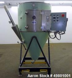 Used- APV Anhydro Electrically Heated Laboratory Spray Dryer, Model Lab S-1, 316 Stainless Steel. Evaporation rated approxim...