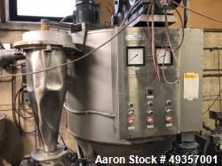 Used- Nerco Niro / Nichols Engineering Spray Dryer, Atomizer Type. Stainless steel. Gas fired. Groen jacketed kettle, stainl...