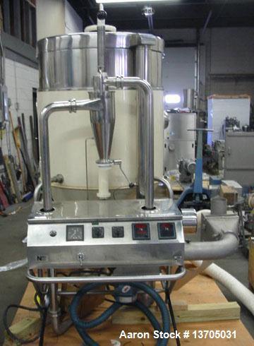 "Used- Niro Mobile Minor Portable Laboratory Spray Dryer. Sanitary stainless steel construction, 30"" diameter x 33"" straight ..."