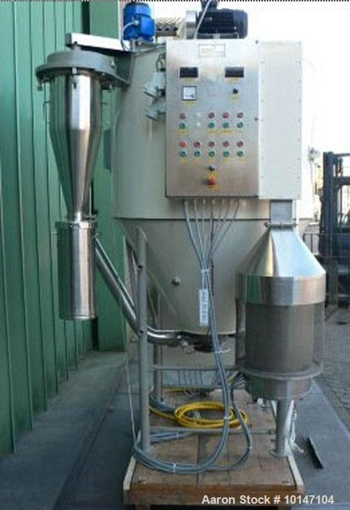 Used-Niro Atomizer Spray Dryer, type Production Minor.  Material of construction is 304 stainless steel (1.4301), drying tow...