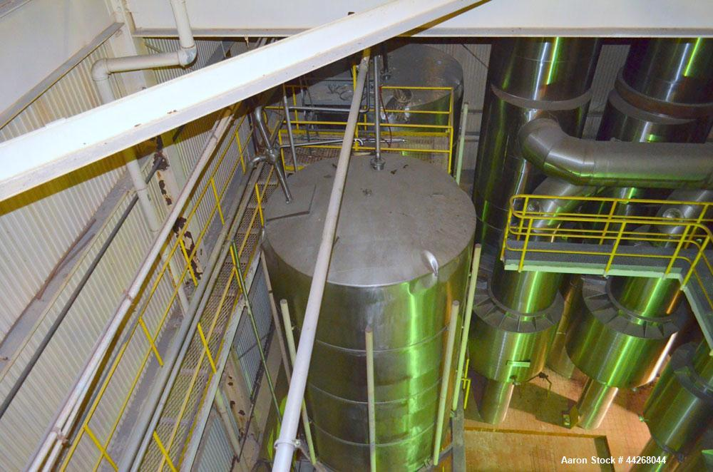 Used- Stainless Steel Rogers Food Processing Equipment Spray Dryer