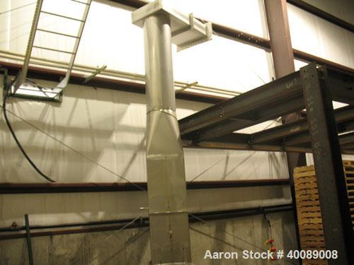 Unused-Spray Drying Systems (SDS) 316 Stainless Steel Spray Dryer Direct Fired System. Production rate of 80 kg/hr. Total ev...