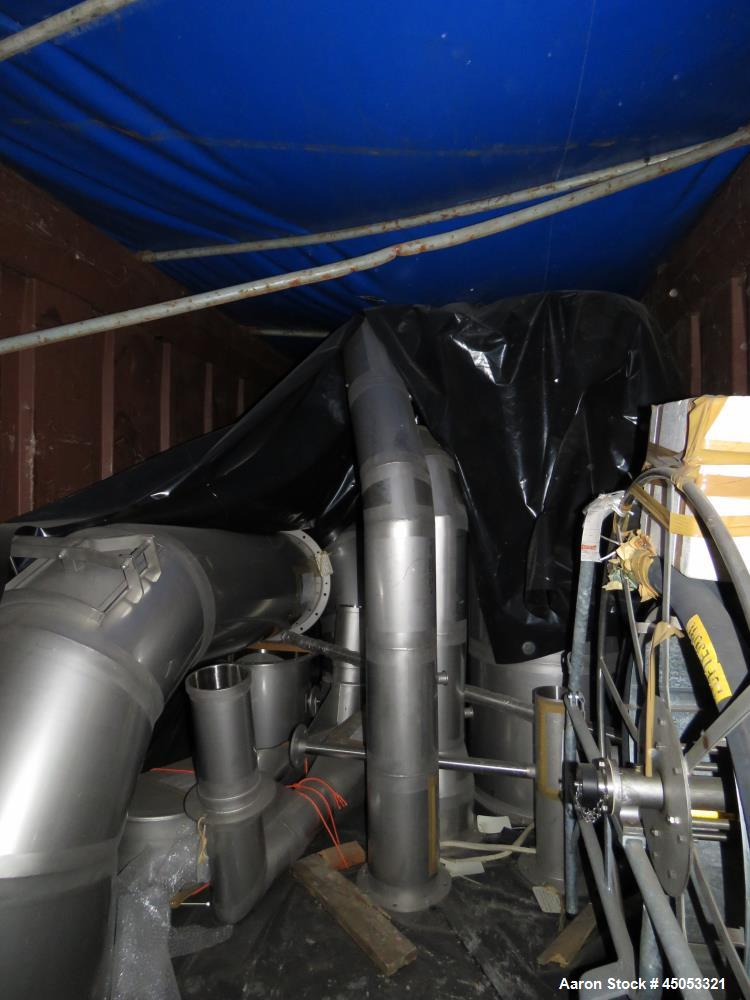 New and Unused- Still in Original Crates. Stork-Freisland Spray Dryer, Rated 5,0
