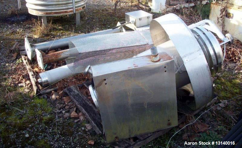 Used- 3V Inc Cogeim Agitated Jacketed Vacuum Hastelloy Pan Dryer