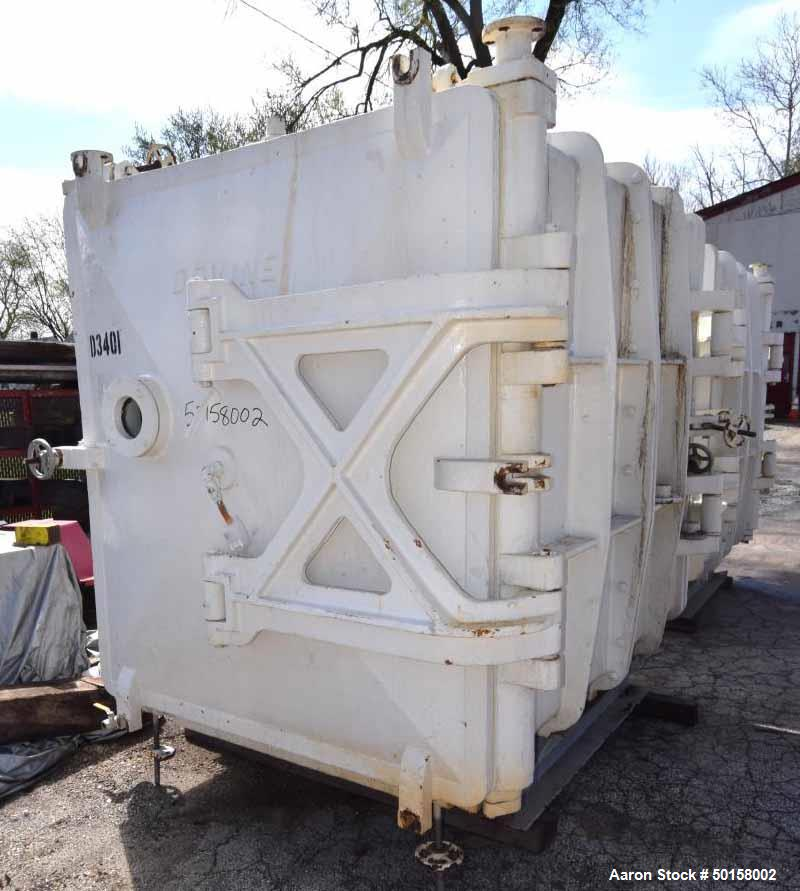 Used- Devine Vacuum Shelf Dryer, Model 22.