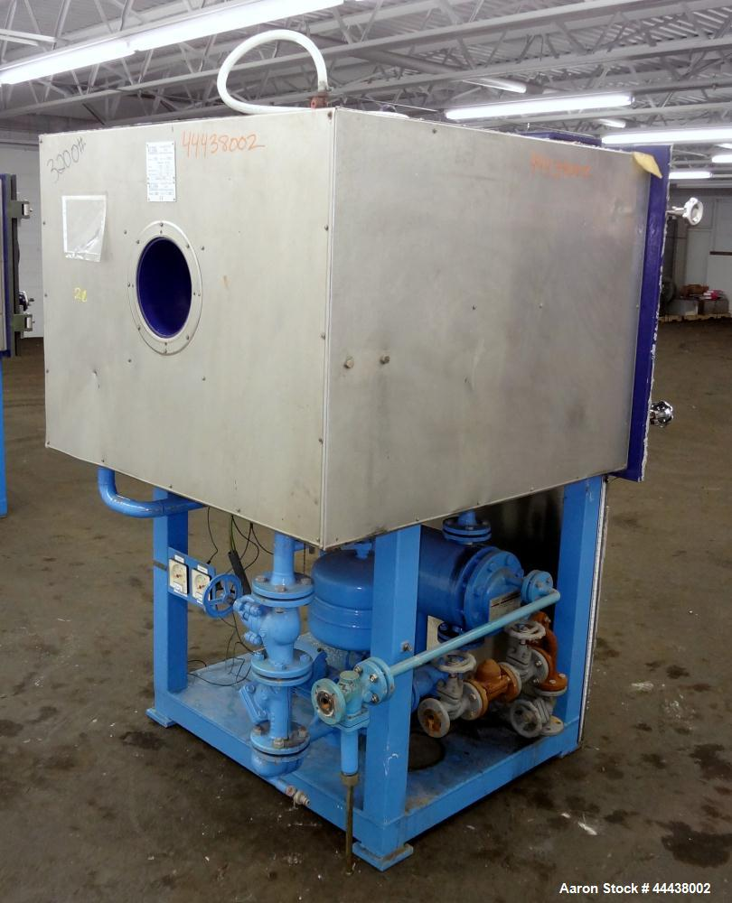Used- Klein GHS Vakuumtechnik Vacuum Shelf Dryer, Model VTS5