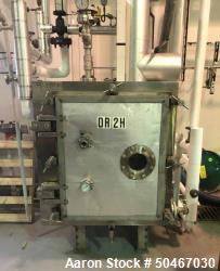 Used- United McGill Vacuum Shelf Dryer, Model 3B-6