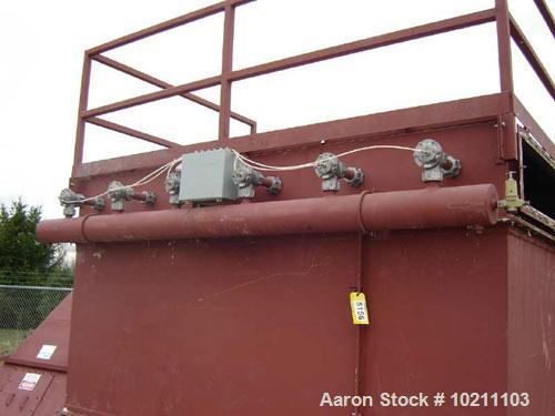 "Used-1200 Square Foot Airecon Cartridge Dust Collector, Model TR-24-36-1200. Originally had (24) 12-3/4"" X 36"" spun bonded p..."