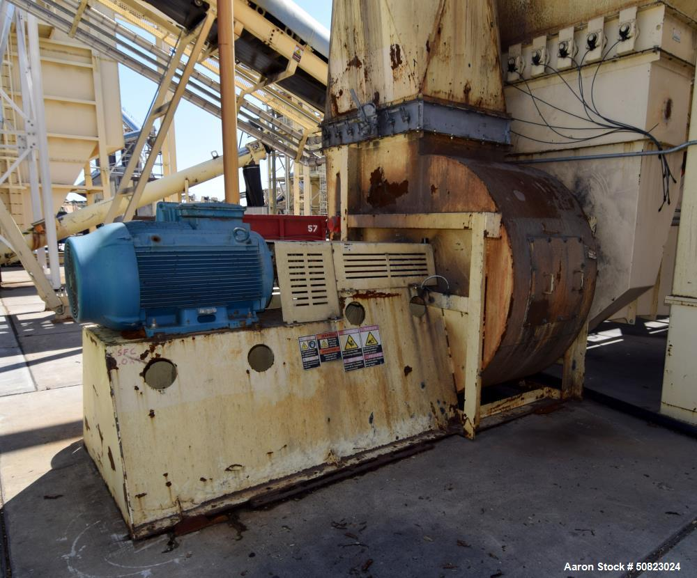 Used- Astec Hot Baghouse, Model BH-68-12-PP