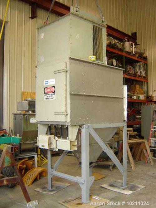 Used-185 Square Foot DCE Dust Ccollector. Stainless steel material contact parts. Type DU14K5AD. 460 volt, 3 phase, 60 hz, 3...