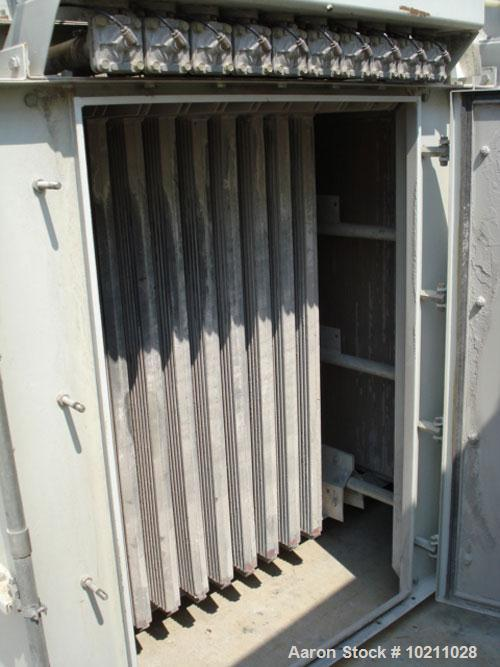 Used-1356 Square Foot DCE Sintamatic Pulse Jet Dust Collector, type SC2B64. Two bank design. Each bank has 10 filter element...