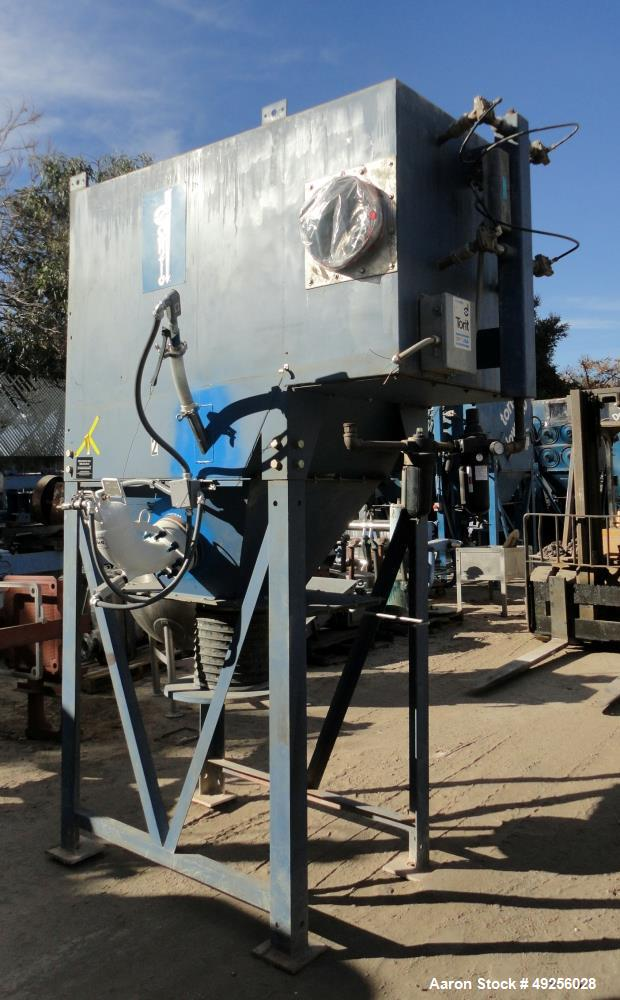 """Used-Donaldson Torit Model 2DF8 Cartridge Dust Collector, Holds (8) cartridge filters 26"""" long, Part number 8PP-22269-00, To..."""
