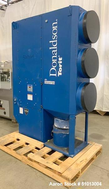 Used- Donaldson Torit Dust Collector, Model DFO 3-3 Downflo