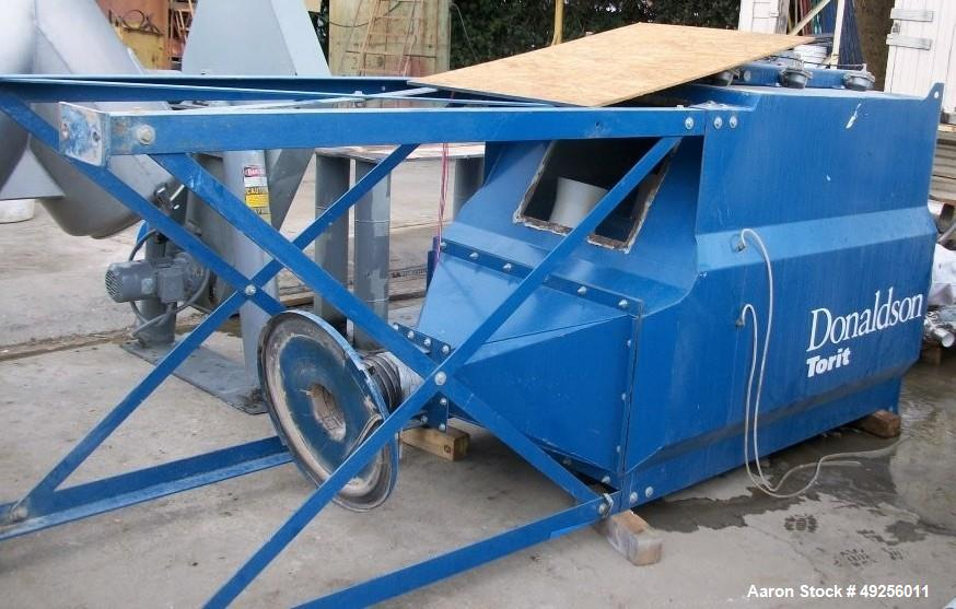 Used- Donaldson Downflo Oval Dust Collector, Model DFO 3-6