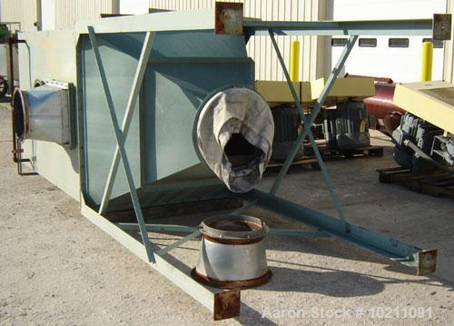 "Used-1,700 Square Foot Pulse Jet Dustex Cartridge Style Dust Collector, Model CJU-1500. Unit contains six 14"" diameter X 36""..."