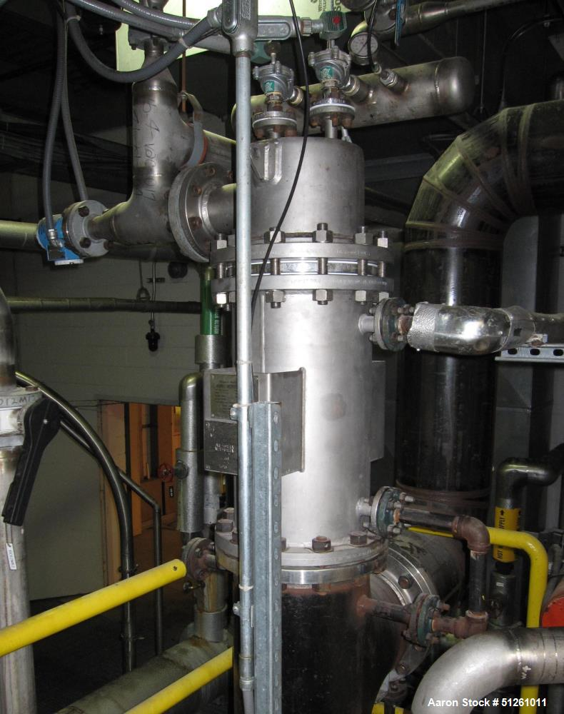 Fairey Microfiltrex / Porvair Stainless Steel Dust Collector