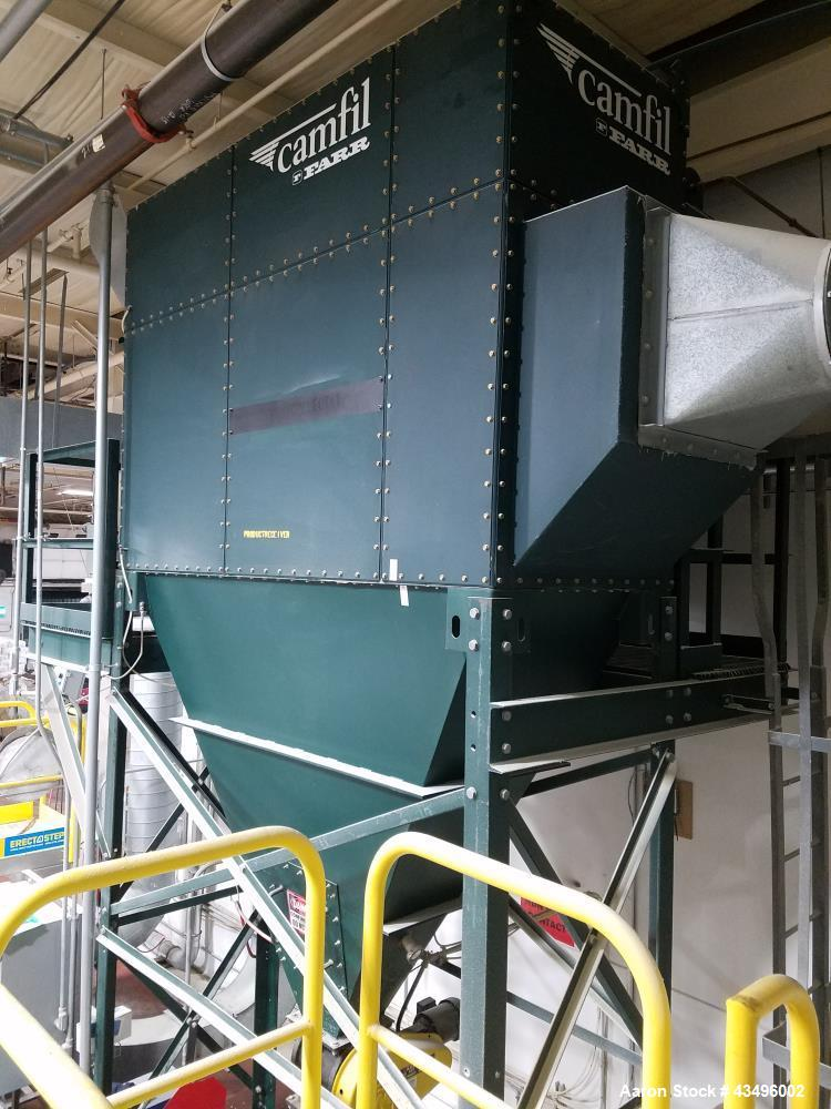 Camfil FARR Dust Collector, Model GS10 Gold Series.