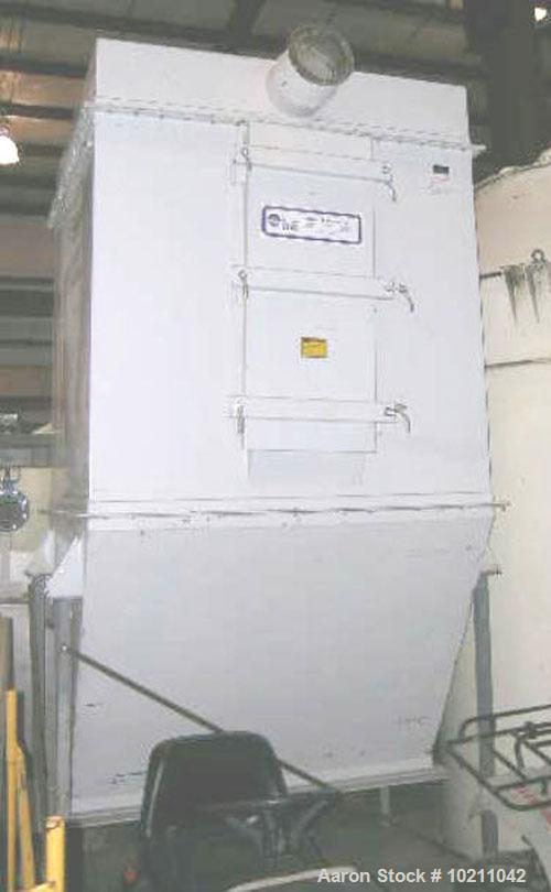"Used-480 Square Foot Horizon Dust Collector, Model F5042311310. Unit has 64 bags, 60"" long X 5.5"" diameter. 8 blow pipe head..."