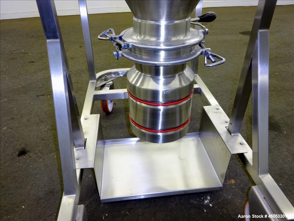Used- IMA Hepa Filter, Model NC040, 316 Stainless Steel.