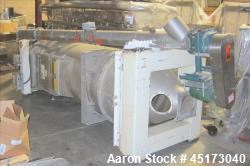 Used-Air Lanco Vacuum Air Transport System with receiver and rotary airlock.  Gardner Denver Sutorbilt positive displacement...