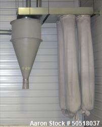Used- Dust Collector. Includes 4 socks.