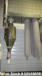 Used- Dust Collector. Includes 3 socks.