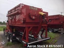 Used- Marco Dustmaster 28,000 CFM Tier 4 Diesel Dust Collector. 120 hp Tier 4 diesel Perkins engine. Mfg. 2014
