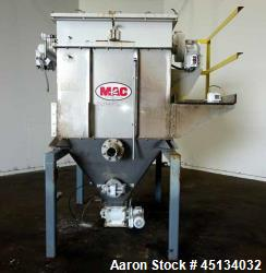 Used- MAC Dust Collector, Model 36ST36-STY3-CG, 304 Stainless Steel