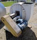 Used- Pulse Jet Dust Collector, Approximate 1100 Square Feet, Stainless Steel. Housing approximate 102