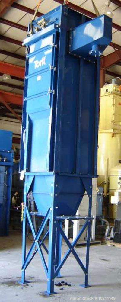 "Used-Torit Bag Type Dust Collector, Model 16PJD.  120 Square foot filter area, 12 bags measuring approximately 72"" long.  Th..."