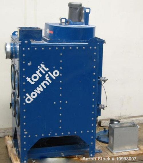 Used-Torit Dust Collector. Model 2DF4. Approximately 1016 square feet filter area. Carbon steel. Rated approximately 900-200...