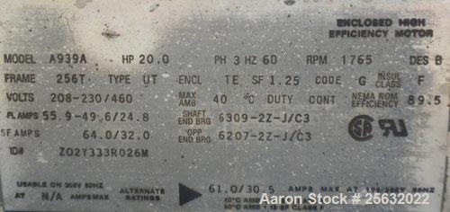 Used- Torit Downflo II Cartridge Type Pulse Jet Dust Collector, model DFT3-18, carbon steel. 3420 square feet filter area, n...