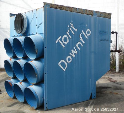 Used- Torit Downflo II Cartridge Type Pulse Jet Dust Collector, model DFT3-18, carbon steel. 3420 square feet filter area, n...