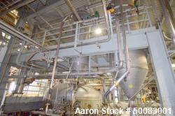 Dedert Single Effect Evaporator, Consisting Of: (1) Vertical flash cooler, model FC-1, 304 stainles...