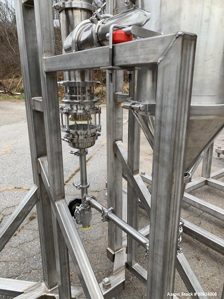 Used- Custom Built Biopharma Falling Film Evaporator