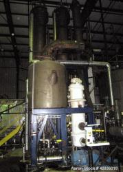 Used- Stainless Steel Triple Effect Falling Film Evaporator