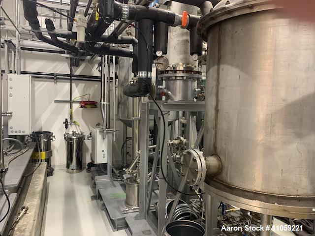 Used- High Temperature/High Vacuum Distillation System