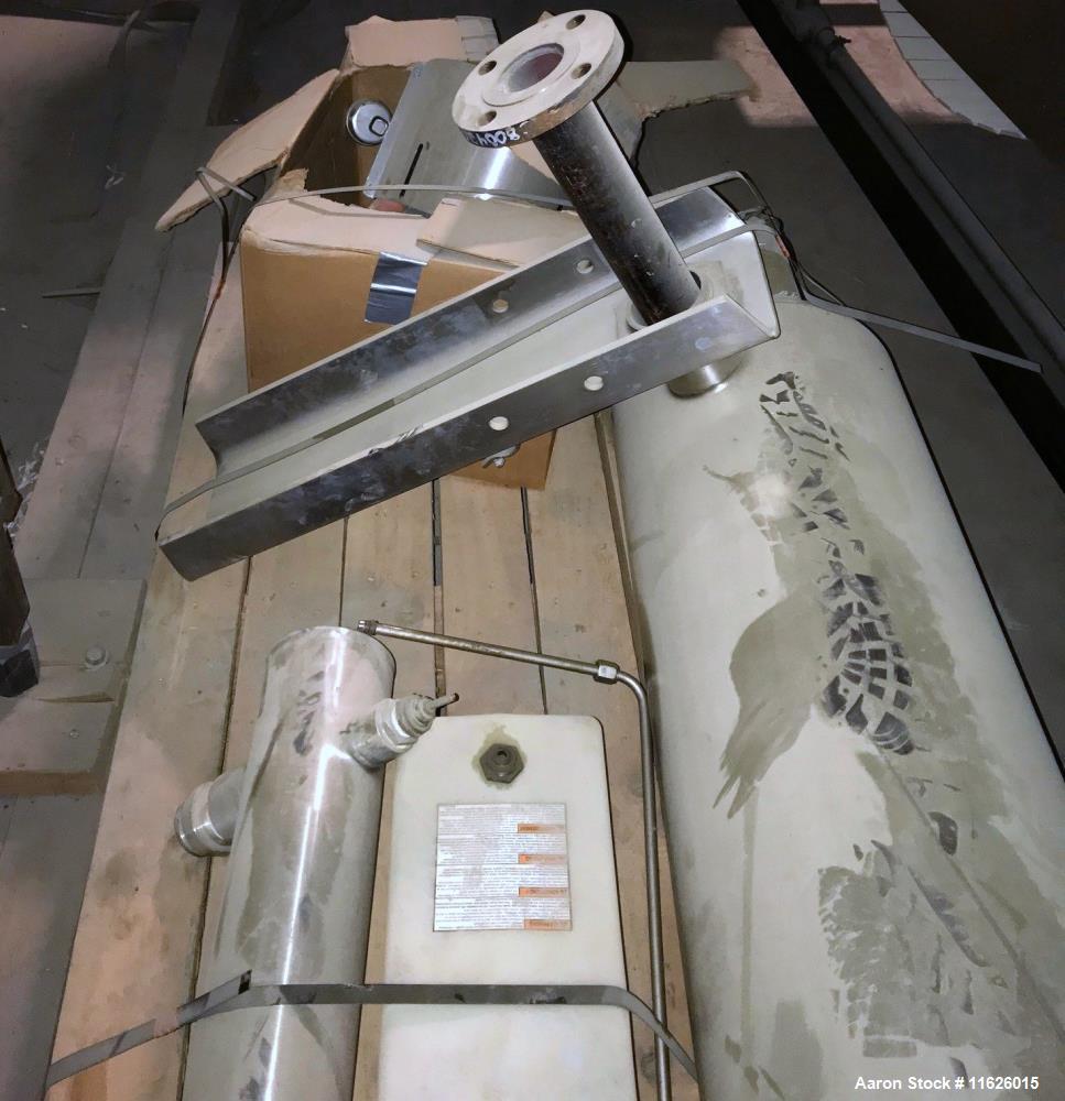 Used- Alfa Laval Contherm Convap 6 x 9 Scrape Surface Evaporator.