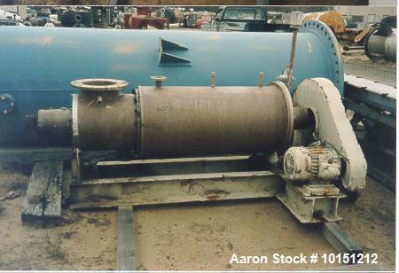 Used- Kontro Thin Film Evaporator, Model TB-16-5L.