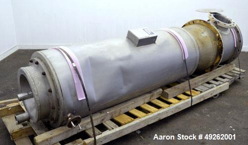 Used- Votator Turba-Film Agitated Thin Film Evaporator, Model 18-072. 316L Stainless steel. 26 square feet heat transfer are...
